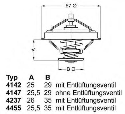 612230 - Термостат вахлер на гранту