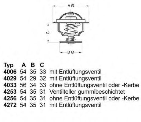 612235 - Термостат вахлер на гранту
