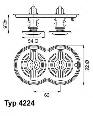 612279 - Термостат вахлер на гранту