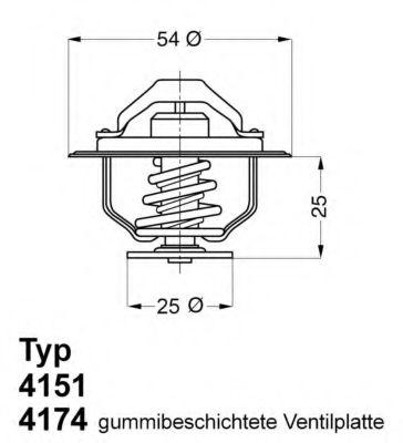612252 - Термостат вахлер на гранту