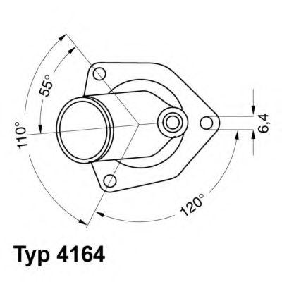 612256 - Термостат вахлер на гранту
