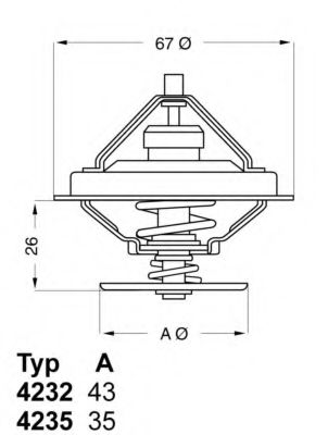 612281 - Термостат вахлер на гранту