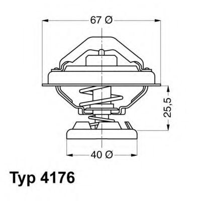 612262 - Термостат вахлер на гранту