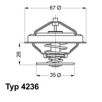 612283 - Термостат вахлер на гранту