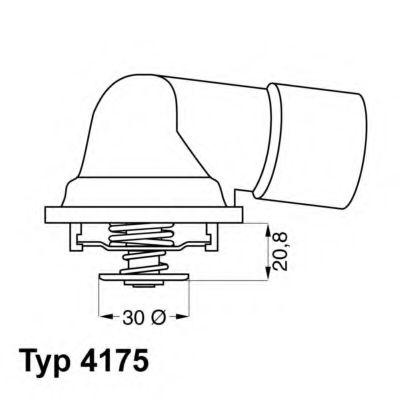 612261 - Термостат вахлер на гранту